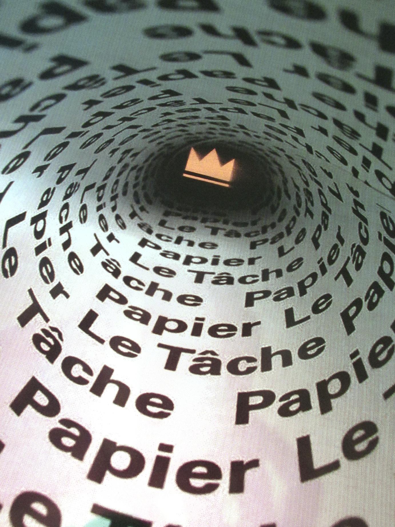 Le Tâche Papier poster book portfolio