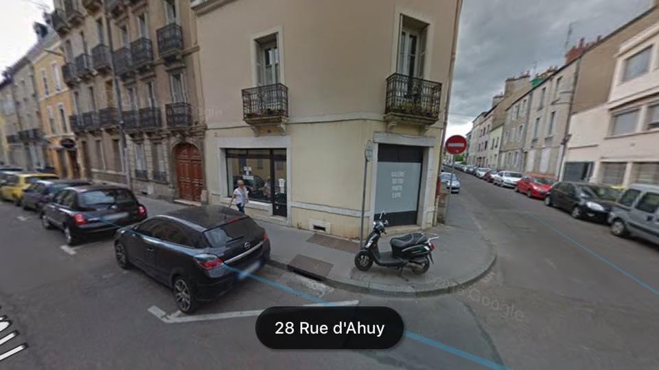 nouvel atelier rue d'ahuy